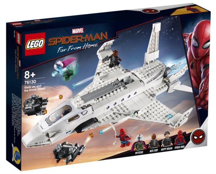 LEGO® Marvel Super Heroes 76130 Tryskáč Tonyho Starka a útok dronu