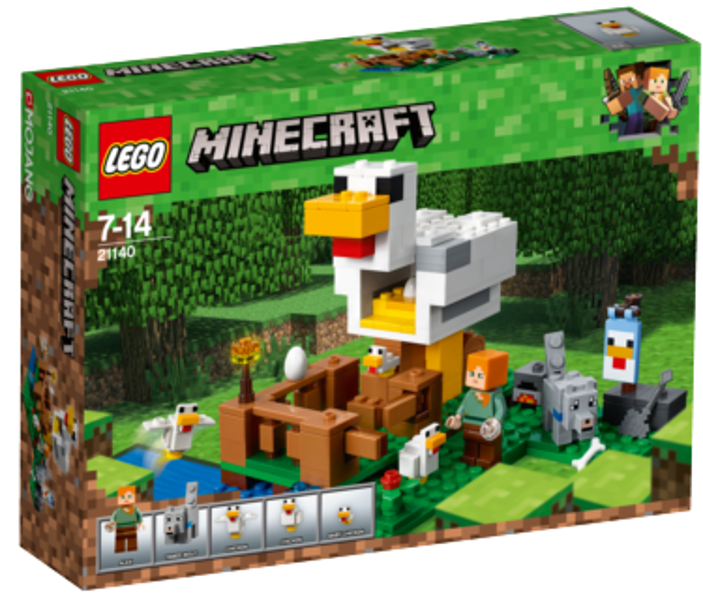 LEGO® Minecraft™ 21140 Kurník