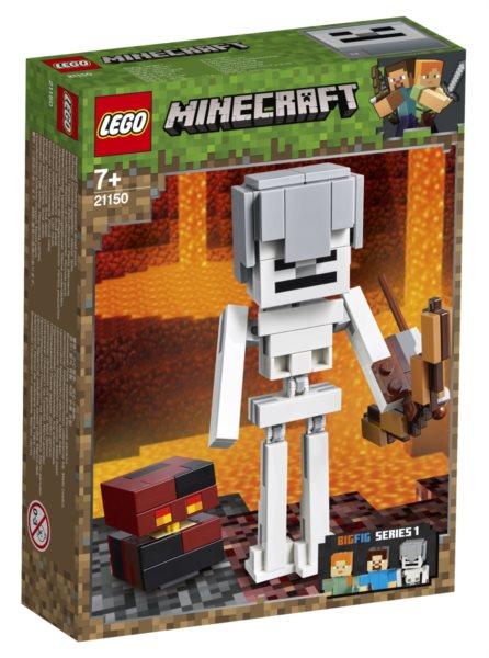 LEGO® Minecraft™ 21150 Minecraft velká figurka: Kostlivec s pekelným slizem