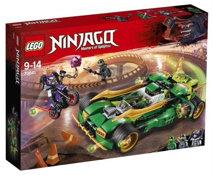 LEGO® NINJAGO® 70641 Nindža Nightcrawler