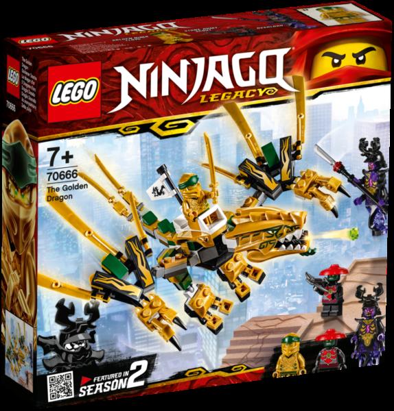 LEGO® NINJAGO® 70666 Zlatý drak
