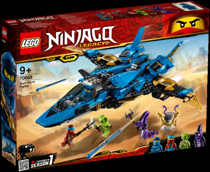 LEGO® NINJAGO® 70668 Jayův bouřkový štít