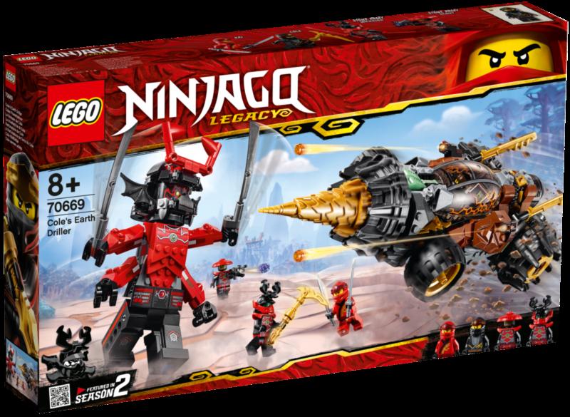 LEGO® NINJAGO® 70669 Coleův razicí vrták