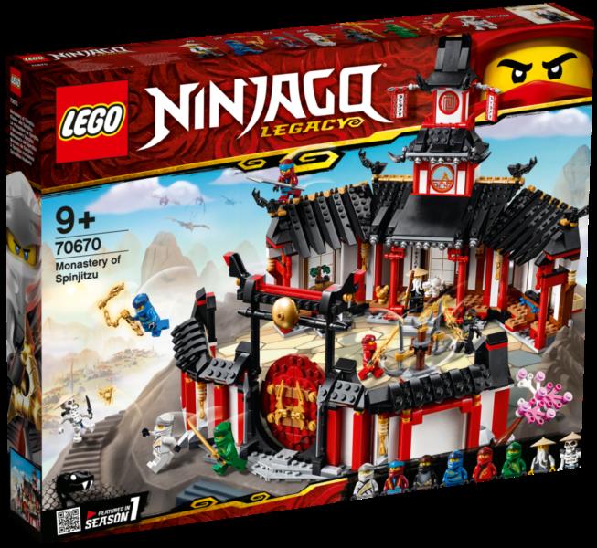 LEGO® NINJAGO® 70670 Chrám Spinjitzu