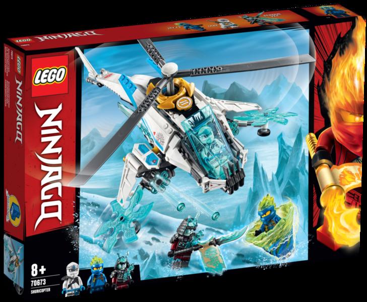LEGO® NINJAGO® 70673 Nindžakoptéra