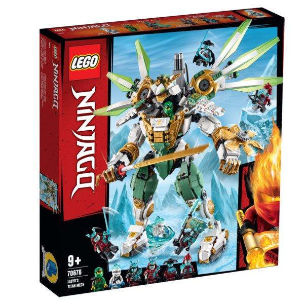 LEGO® NINJAGO® 70676 Lloydův titanový robot