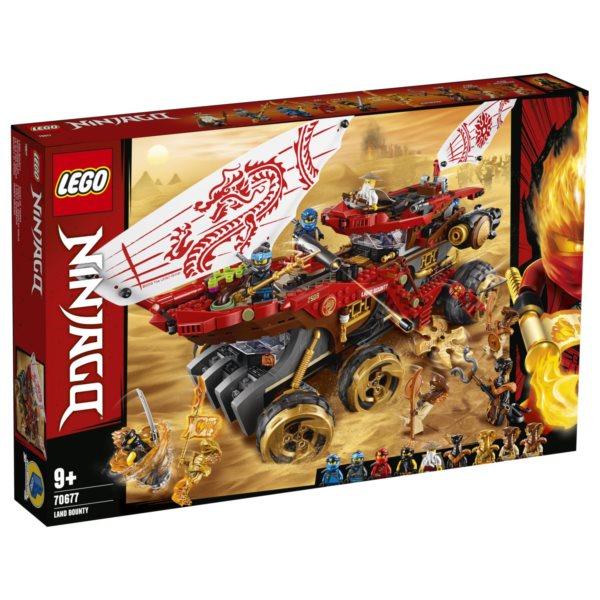LEGO® NINJAGO® 70677 Pozemní Odměna osudu