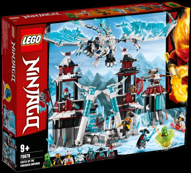 LEGO® NINJAGO® 70678 Hrad zapomenutého císaře