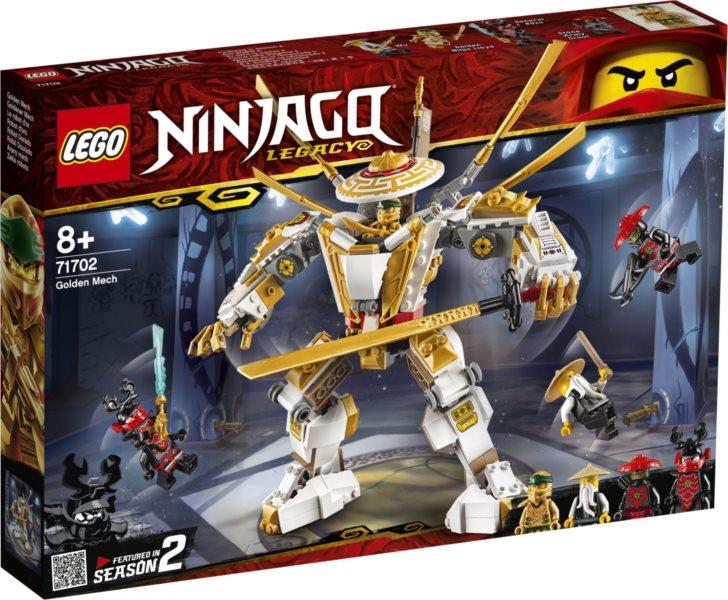 LEGO® NINJAGO® 71702 Zlatý robot