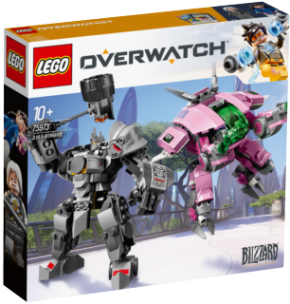 LEGO® Overwatch® 75973 D.Va a Reinhardt