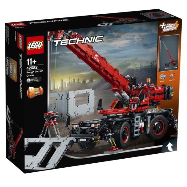 LEGO® Technic 42082 Terénní jeřáb