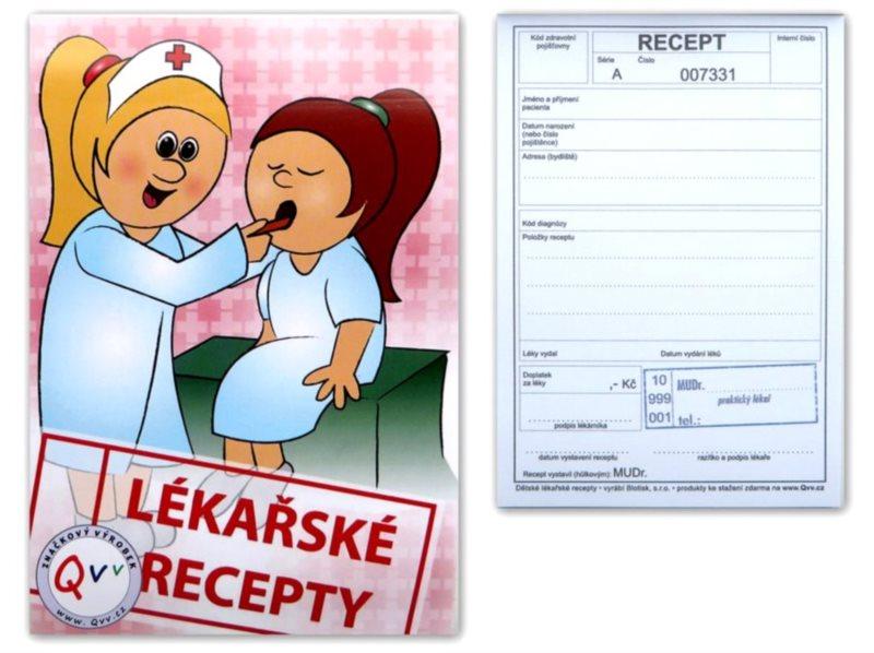 Blok Lékařské recepty 82701