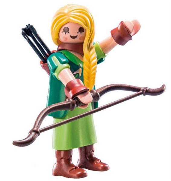 Playmobil 9147 Figurky pro holky - Lesní bojovnice (série 11)