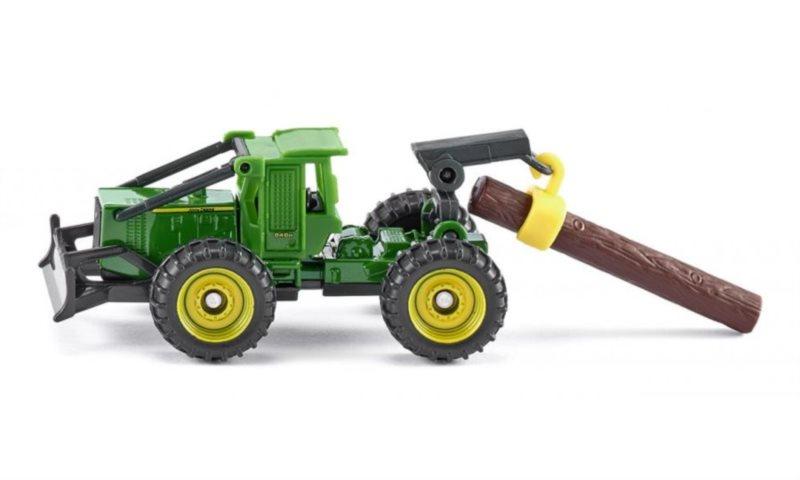 SIKU 1480 Lesní kolový traktor John Deere