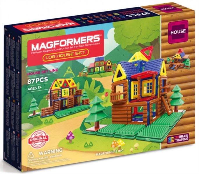 Magnetická stavebnice MAGFORMERS Magformers Lesní srub
