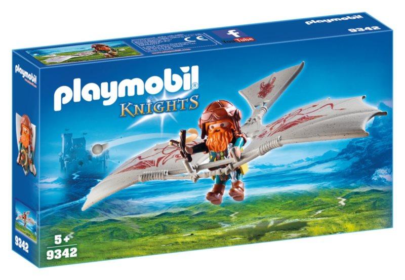 PLAYMOBIL Létající stroj pro trpaslíky 9342