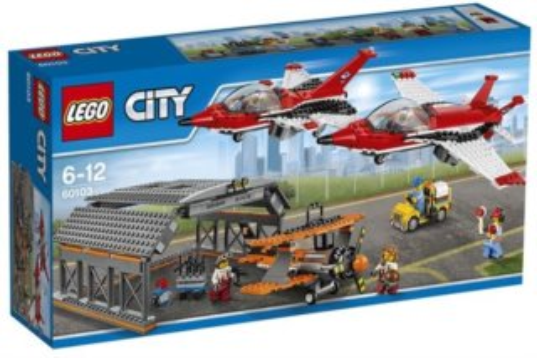 poškozený obal: Stavebnice LEGO® City Letiště - letecká show 60103