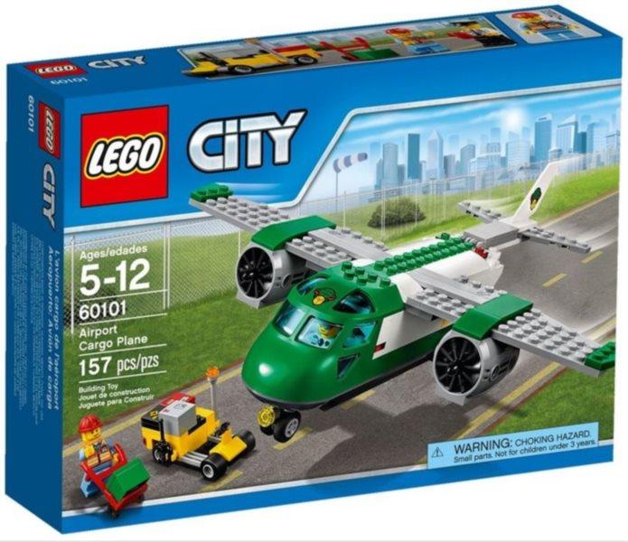 Stavebnice LEGO® City – 60101 Letiště - nákladní letadlo