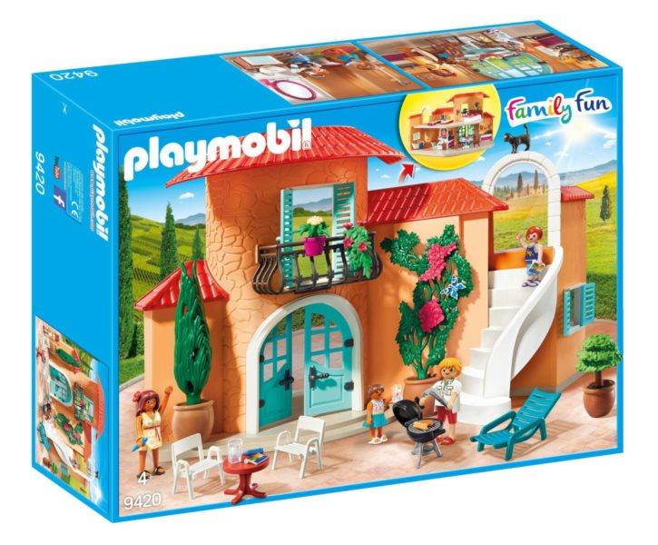 PLAYMOBIL® Family Fun 9420 Letní prázdninová vila