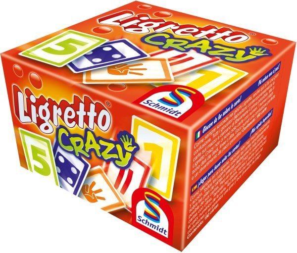Rychlá karetní hra Ligretto Crazy