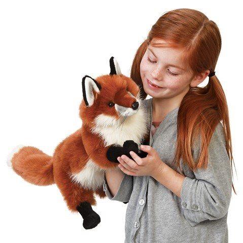Liška (pohyblivý plyšák na ruku), FOLKMANIS PUPPETS
