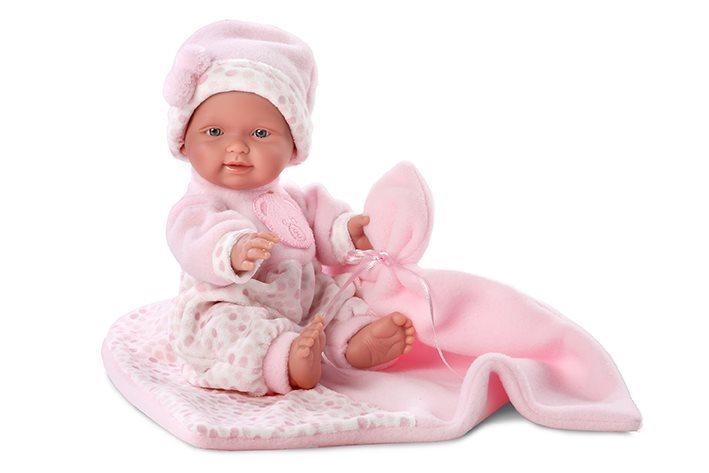 Panenka LLORENS New Born holčička 26 cm