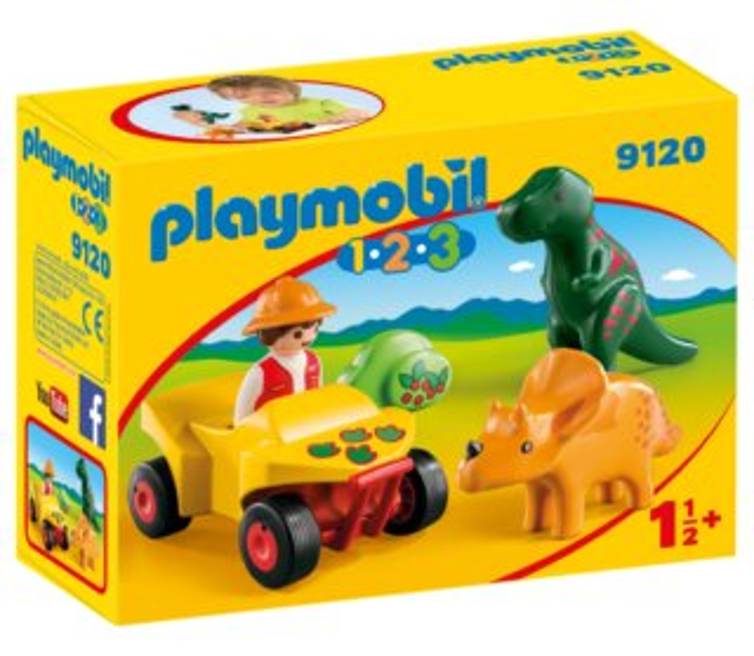 Playmobil 9120 Lovec dinosaurů