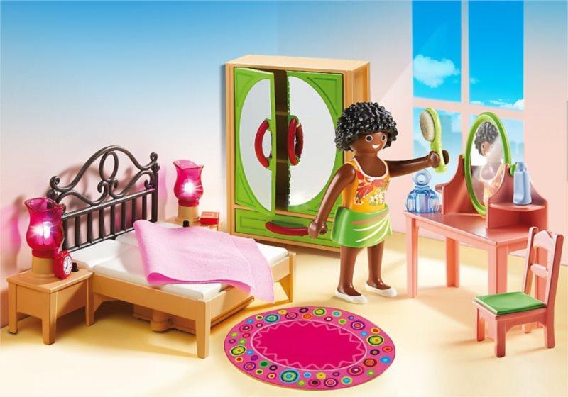 PLAYMOBIL Ložnice s toaletním stolkem 5309
