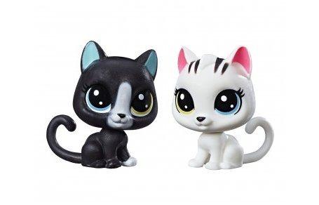 HASBRO LPS Černobílý set zvířátek Kočičky