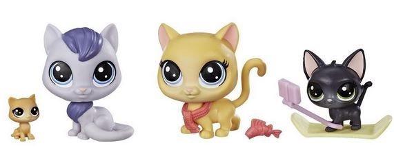 Hasbro Littlest Pet Shop LPS Série 2 Rodinné balení Kočičky