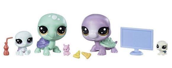 Hasbro Littlest Pet Shop LPS Série 2 Rodinné balení Želvy