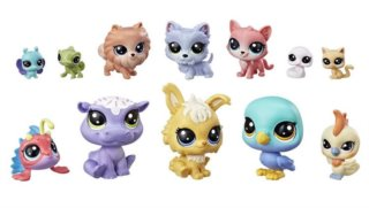 Hasbro Littlest Pet Shop LPS Sada Šťastná dvanáctka s hrochem
