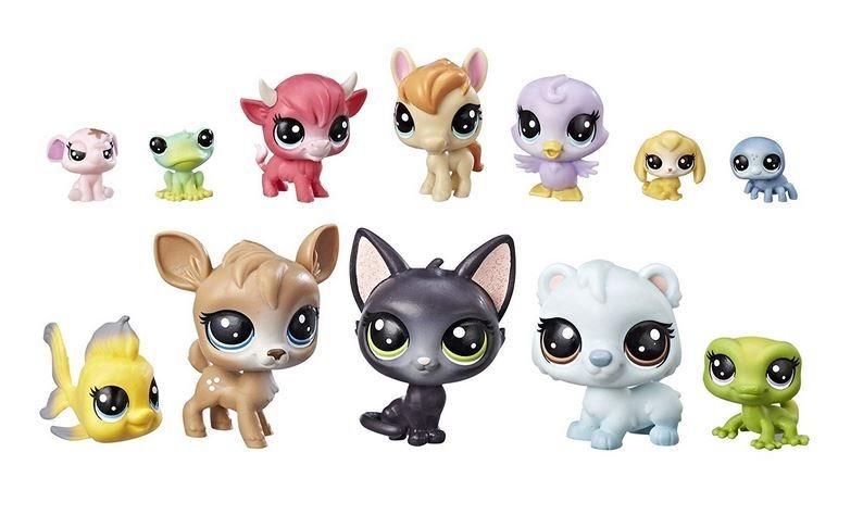 Hasbro Littlest Pet Shop LPS Sada Šťastná dvanáctka s kočkou