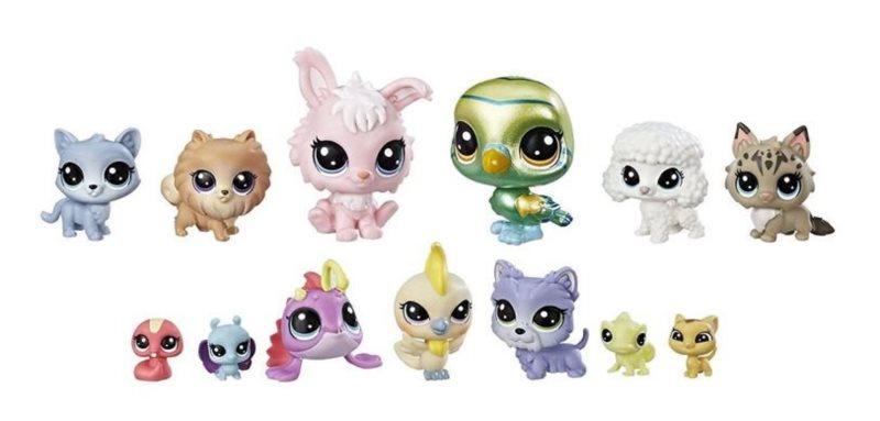 Hasbro Littlest Pet Shop LPS Série 2 Sada Hvězdná četa 13ks