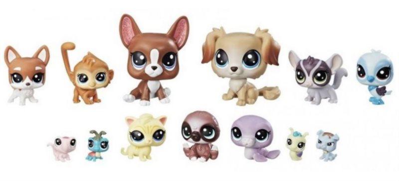 Hasbro Littlest Pet Shop LPS Série 2 Sada Nezbední kamarádi 13ks