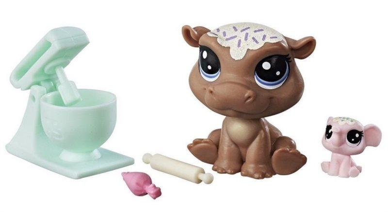 Hasbro Littlest Pet Shop LPS Série 2 Set zvířátek 2 ks (hroch a slon)