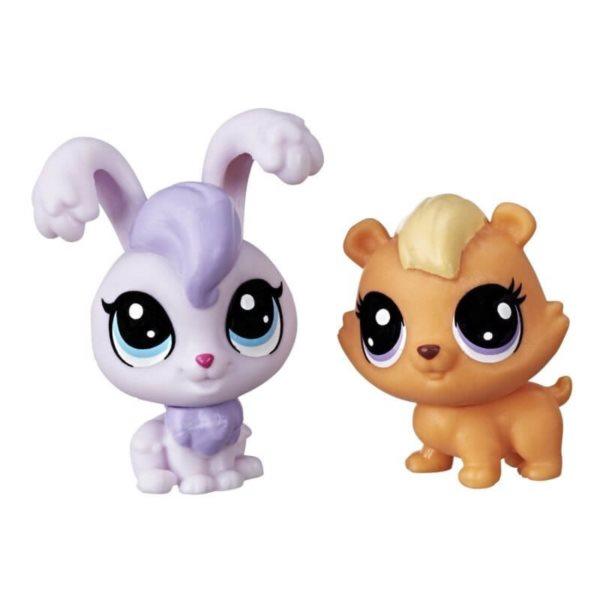 Hasbro Littlest Pet Shop LPS Série 2 Set zvířátek 2 ks (zajíc a křeček)