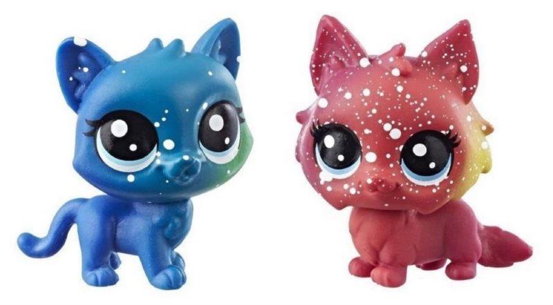 Hasbro Littlest Pet Shop LPS Série 3 Kosmický set zvířátek 2ks (kočky)