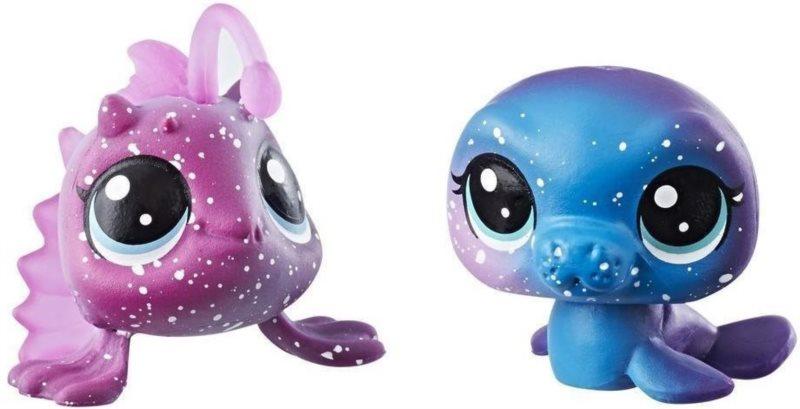 Hasbro Littlest Pet Shop LPS Série 3 Kosmický set zvířátek 2ks (rybka a lachtan)