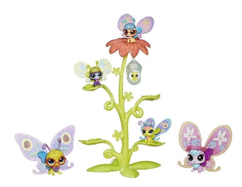 Hasbro Littlest Pet Shop LPS Série 3 Květinový domeček