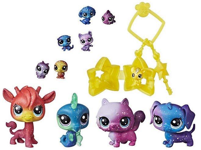 Hasbro Littlest Pet Shop LPS Série 3 - Sada Kosmická zvířátka 11 ks