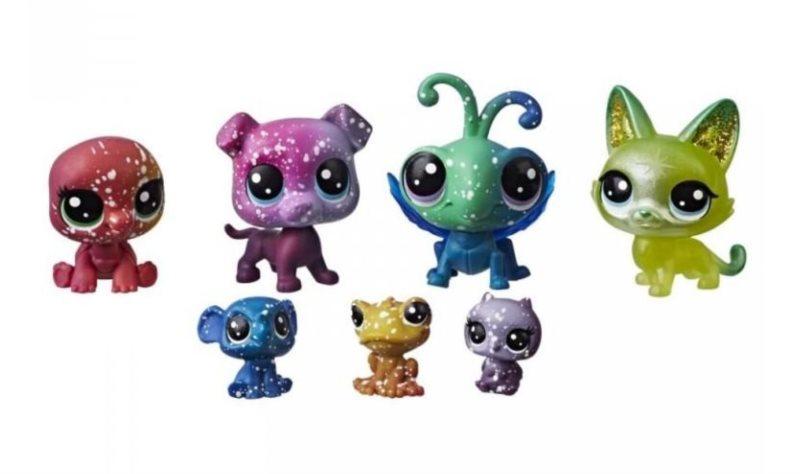 Hasbro Littlest Pet Shop LPS Série 3 Set kosmických zvířátek 7ks (A)