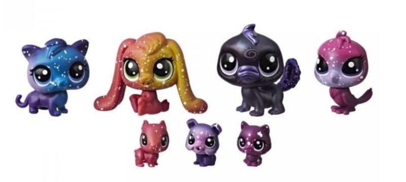 Hasbro Littlest Pet Shop LPS Série 3 Set kosmických zvířátek 7ks (C)