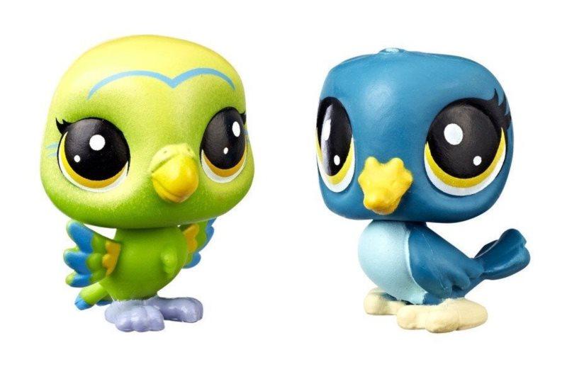 Hasbro Littlest Pet Shop LPS Série 3 Set zvířátek 2 ks (2 ptáčci)