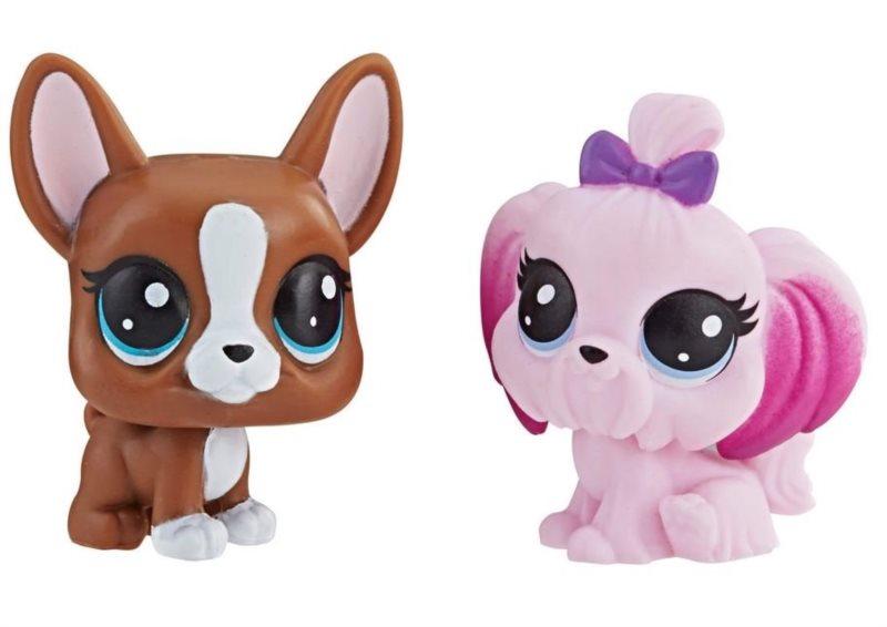 Hasbro Littlest Pet Shop LPS Série 3 Set zvířátek 2 ks (2 pejsci)