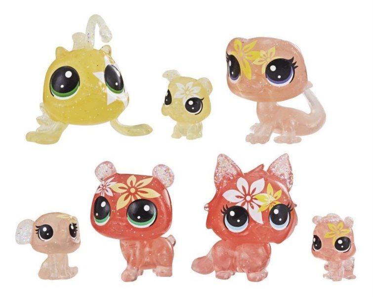 Hasbro Littlest Pet Shop LPS Set květinových zvířátek 7ks (lilie)