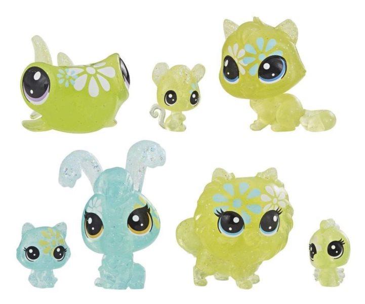 Hasbro Littlest Pet Shop LPS Set květinových zvířátek 7ks (sedmikráska)