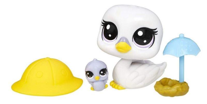 Hasbro Littlest Pet Shop LPS Set zvířátek 2 ks (labutě)