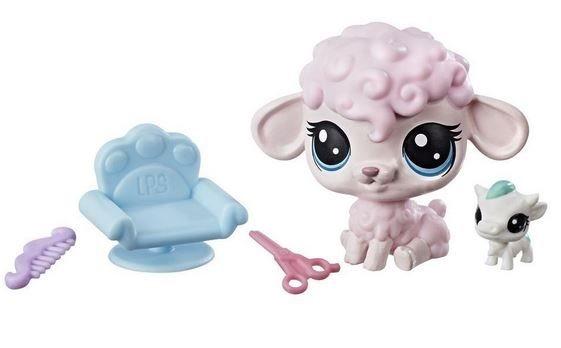 HASBRO LPS Set zvířátek 2 ks (ovečka a kravička)