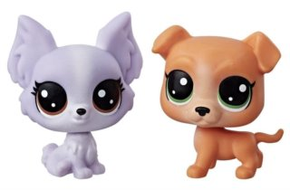 Hasbro Littlest Pet Shop LPS Série 1 Set zvířátek 2 ks (psi)